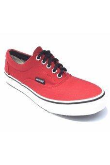 MASHARE รองเท้าผ้าใบ แฟชั้น ผู้ชาย รุ่น V4 (Red)
