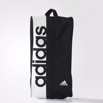 ADIDAS กระเป๋าใส่อุปกรณ์ รุ่น LIN PER SB - S99973-NS (BLACK/WHITE)