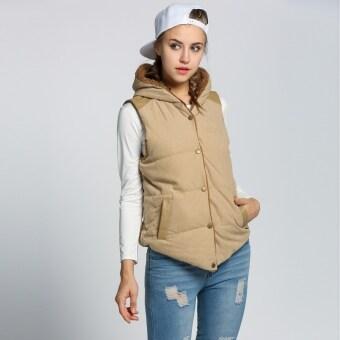 นิวแฟชั่นผู้หญิงฤดูใบไม้ร่วง และฤดูหนาวไซส์พิเศษเสื้อนอกเสื้อกั๊กเสื้อแจ็กเก็ตเสื้อฮู้ดสลิม
