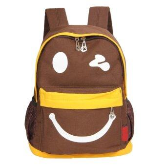 Harga Children Small Lovely School Bag (Brown) - Intl
