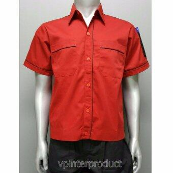 เสื้อช็อบ เสื้อวิศวะ เสื้อทำงาน size L รอบอก 44นิ้ว