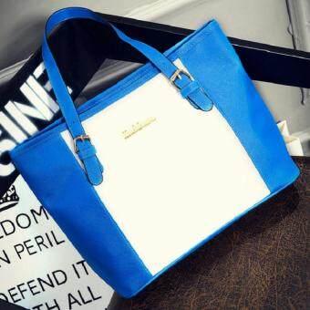 Open กระเป๋าแฟชั่นเกาหลี (สีฟ้า) รุ่น216