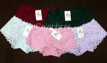 Celebbras กางเกงในลูกไม้ No.A018 (แพค 5 ตัว)