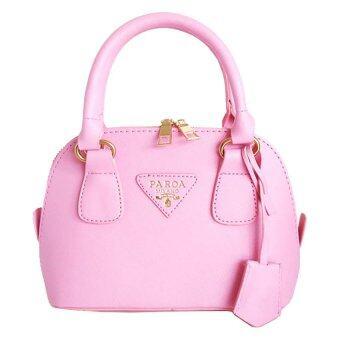 Oops Travel Bag กระเป๋าแฟชั่น MINI รุ่น 186 - Pink