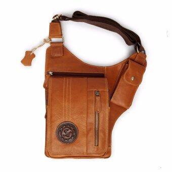 SN Collection กระเป๋าสะพายข้างหนังแท้ สำหรับเก็บปืนพกสั้น เหมาะสำหรับผู้ชาย SPB03-1