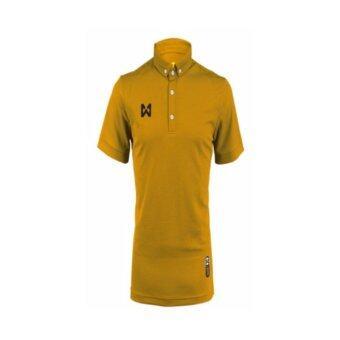 WARRIX SPORT เสื้อโปโลWA-3315-NN(สีทอง)