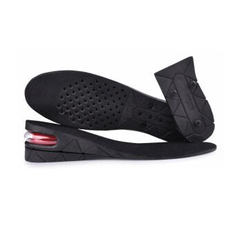 แผ่นเสริมส้นรองเท้า ขนาด 5 CM. แบบเต็มเท้า (สีดำ)