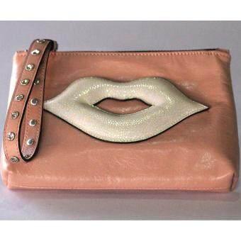 PINK PENNY'S Lip Diamond สีชมพูอ่อน-ปากขาวมุก