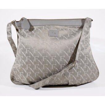 FN BAG กระเป๋าสะพายพาดลำตัว Shoulder Bag 12-08-00-30106-5 Col. Grey