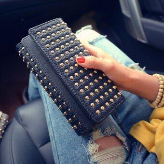 B'nana Beauty กระเป๋าสตางค์ใบยาว กระเป๋าเงินผู้หญิง กระเป๋าตังตามวันเกิด กระเป๋าสตางค์น่ารัก กระเป๋าตังสวยๆ รุ่น GC-01 (สีดำ)