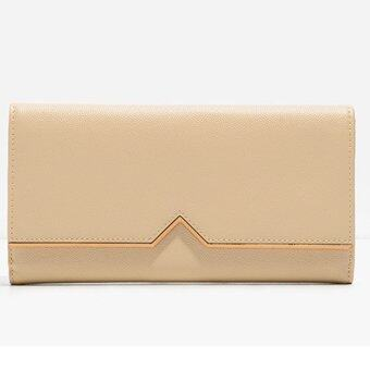 Harga CHARLES & KEITH TRIANGLE CUT OUT WALLET (BEIGE)