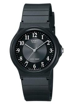 Casio Standard นาฬิกาข้อมือ สายเรซิ่น MQ-24-1B3LDF – Black