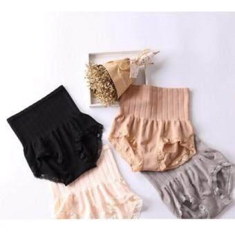 MUNAFIE Set กางเกงในญี่ปุ่นกระชับสัดส่วน (ครีม/เทา/เนื้อ/ดำ) 4 ตัว
