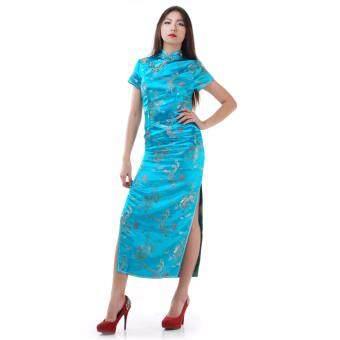Princess of Asia กี่เพ้ายาว (สีฟ้า)