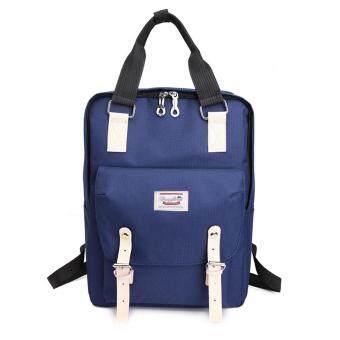 Marverlous กระเป๋า กระเป๋าเป้ กระเป๋าเป้สะพายหลัง NEW Fashion Backpack TTQ-สีฟ้า