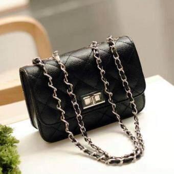Hayashi - กระเป๋าสะพายพาดลำตัว Premium Crossbody(black)