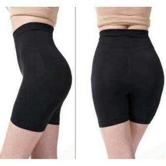 MUNAFIE กางเกงเก็บพุงกระชับสัดส่วน รุ่นขาสั้น (สีดำ)