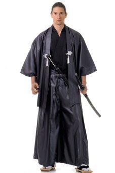Princess of asia ชุดฮากามะพร้อมเสื้อคลุมฮาโอริ - สีเทา