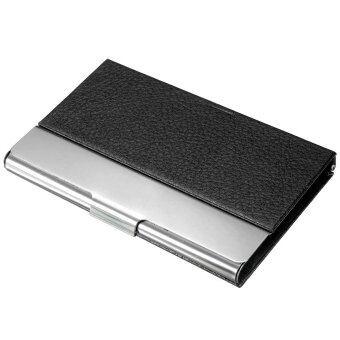 ใหม่กระเป๋าหนังกระเป๋าอลูมิเนียม/บัตรเครดิตธุรกิจบัตรพลาสติกกล่องโลหะกล่อง