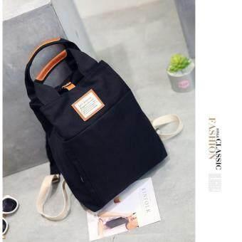 Marverlous กระเป๋า กระเป๋าเป้ กระเป๋าสะพายหลัง Backpack SR72-Black