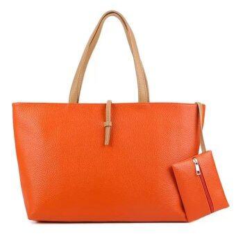 แฟชั่น กระเป๋า รุ่น Orange basic (ส้ม)