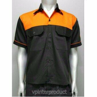 เสื้อยูนิฟอร์ม เสื้อช่าง เสื้อพนักงาน Size M รอบอก 42 นิ้ว