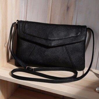 จดหมายข่าวสตรีกระเป๋าคลัตช์-สีดำ