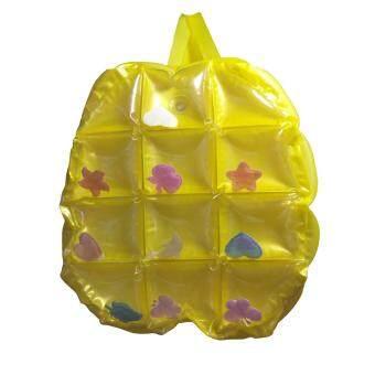 กระเป๋าลมกันน้ำ แบบเป้ ใส่เก๋ๆ ใส่เที่ยว ทะเล เล่นน้ำไม่ต้องกลัวเปียก (คละแบบ คละสี) 1 ใบ แถมฟรี ร่มมิกกี้ 1 คัน
