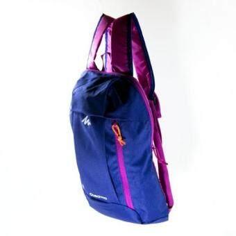 Mansomeguys กระเป๋าเป้จักรยาน เป้กันน้ำ สำหรับปั่นจักรยาน รุ่น Waterproof Bag Arpenaz สีม่วง Purple