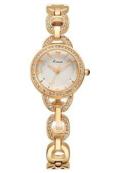 Kimio นาฬิกาข้อมือผู้หญิง สีทอง สายสแตนเลส รุ่น KW6019