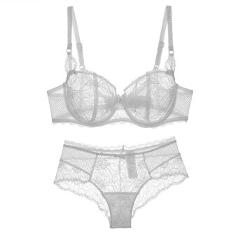 Harga Varsbaby Women's Lace Bra Set(White)