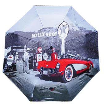 Harga YNOT World City Umbrella ร่มพับ (Hollywood)