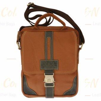 SAPA กระเป๋าหนังแท้ กระเป๋าสะพายข้างใส่I-PAD กระเป๋าใส่เอกสาร กระเป๋าถือหนังแท้ SPA15