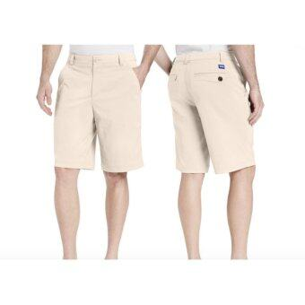 EXCEED MEN GOLF SHORT PANTS (KHAKI) กางเกงกอล์ฟขาสั้น สีกากี (PGM KUZ011)