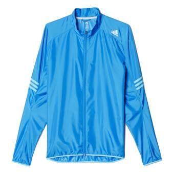 Adidas แจ็คเก็ตกันลม RESPONSE WIND JKT รุ่น AI8253 (Blue)