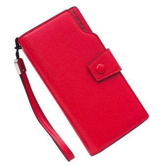 พวกหนังซิป & เหรียญใส่กระเป๋าถือสีแดง