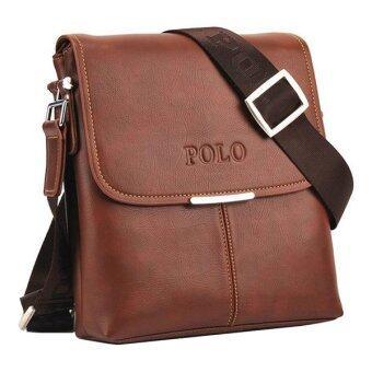 Top Class กระเป๋าสะพาย POLO VIDENG - Brown