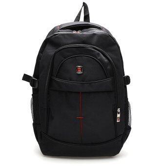 Marino กระเป๋าเป้สะพายหลัง กระเป๋าใส่โน๊ตบุ๊ค Notebook กระเป๋า backpack กระเป๋าเดินทาง No. M002 - สีดำ