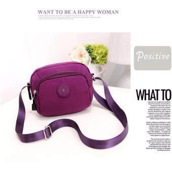 Cc jeans กระเป๋าสะพายข้างสำหรับผู้หญิง สไตล์สดใสน่ารัก (Purple)