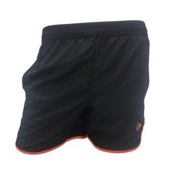 DUNLOP กางเกงเทนนิส DUNLOP LADIES SHORTS BLACK/ORANGE DAP16SW01A XXL