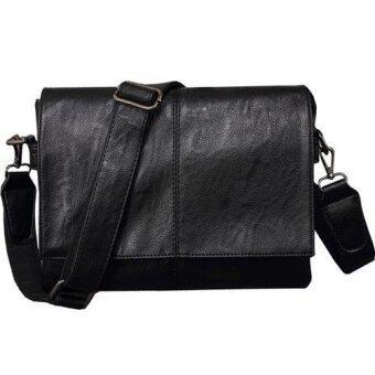 Man Rewards กระเป๋าเอกสาร สำหรับสุภาพบุรุษ รุ่น MB-Q9030R (สีดำ)