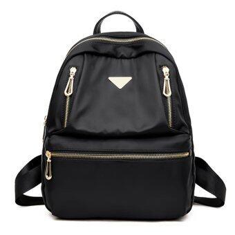 Little Bag กระเป๋าเป้สะพายหลัง กระเป๋าเป้เกาหลี กระเป๋าสะพายหลังผู้หญิง backpack women รุ่น LP-117 (สีดำ)