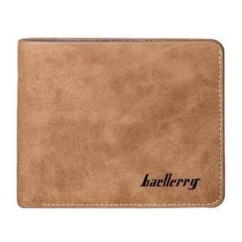 MATTEO กระเป๋าสตางค์ผู้ชาย กระเป๋าเงิน Baellerry 1309 - Brown