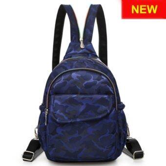 RICHCOCO กระเป๋าเป้สะพายหลัง Nylon leisure Backpack (K01_4 Blue)