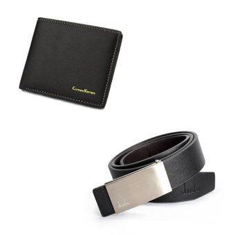 พวกบัตรเครดิตกระเป๋าสตางค์หนังถือกระเป๋าสตางค์กระเป๋าถือรูปถ่าย และเข็มขัดหนังรัดเอวแบบสุภาพคาดเข็มขัดชุดสีดำ