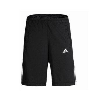adidas กางเกง ESSENTIALS SHORTS รุ่น AA1620S สีดำ (Black)