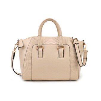 LIE กระเป๋า กระเป๋าสะพาย กระเป๋าสะพายสำหรับผู้หญิง No.MS23519 - Beige