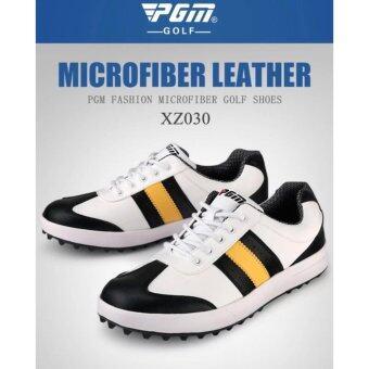 PGM รองเท้ากอล์ฟ PGM XZ030 ขาวดำเหลือง SIZE EU: 39 - EU:44
