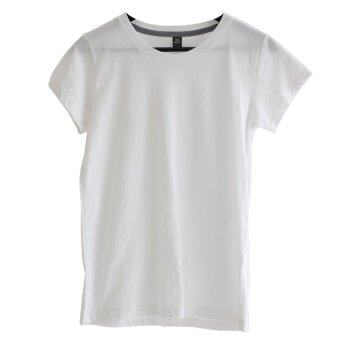 Chahom เสื้อยืดคอกลม (สีขาว)