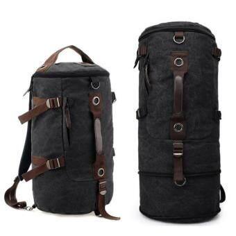 Man Rewards กระเป๋าสะพายผ้าแคนวาสหนา แบบยืดข้าง รุ่น MB-1028RSM (สีดำ)